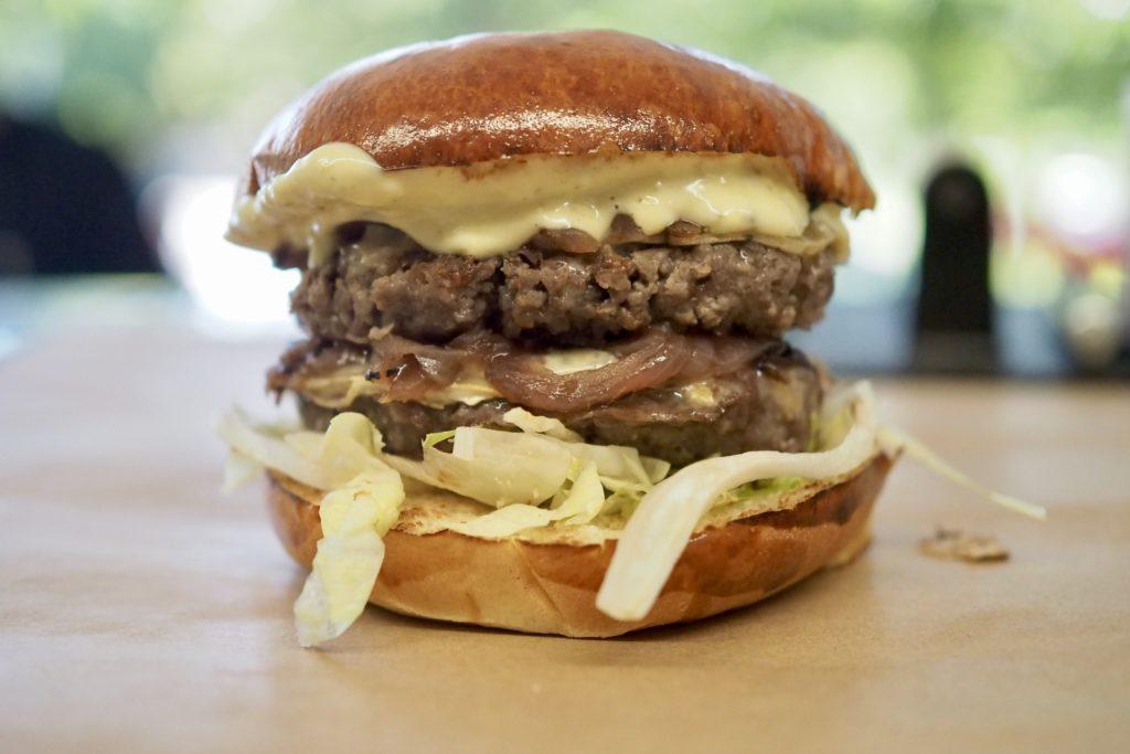 Double Après-ski burger