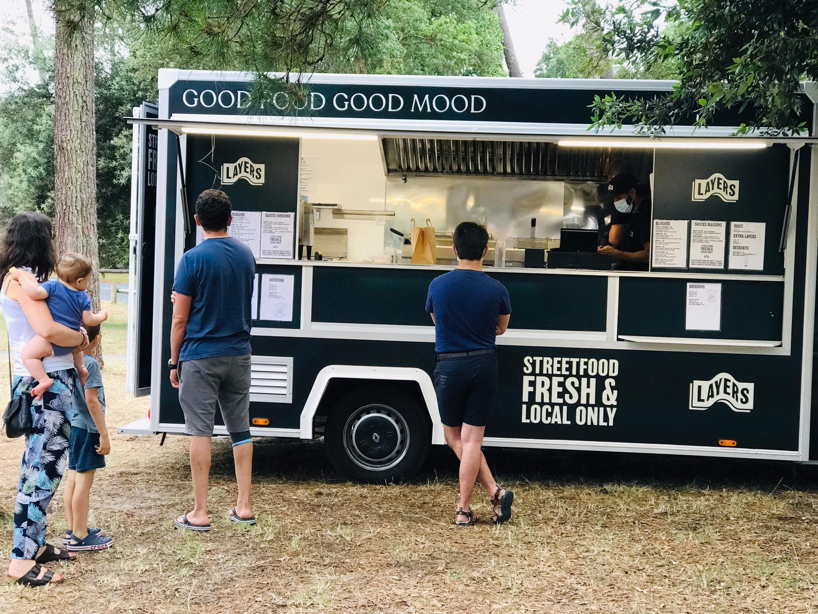 Food truck Layers Labenne Landes Vinci Autoroutes