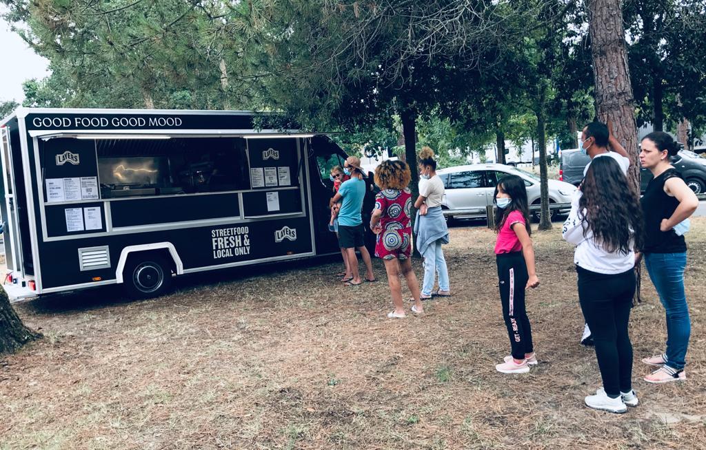 Vacanciers Food truck Layers Vinci Autoroutes